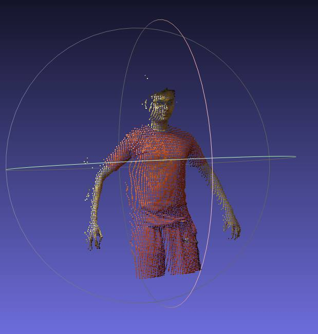 Kinect Bodyscanner